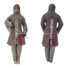 Stainless Steel Chainmail Mesh Armor for dispaly