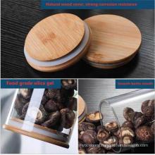 Borosilicale Glass Food Storage Jar for Honey Candy Cookie Tea
