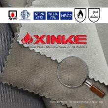 Feuerbeständiges Gewebe mit hoher Durchlässigkeit für reflektierende rote Jacke der Sicherheit