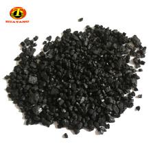carbón fijo 80-90% min. Medio filtrante antracita en la purificación de agua alcalina