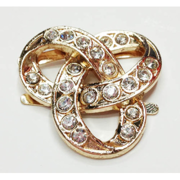 2013 Fashion Alloy Rhinestone Lady Shoe Buckle, Charming Rhinestone Women Shoe Buckle
