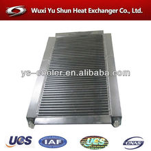 designed radiator / water cooler / aluminum plate heat exchanger for air screw compressor