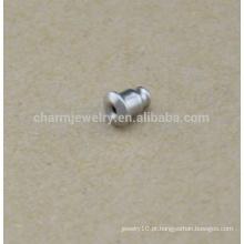 BXG036 Alta qualidade em aço inoxidável jóias acessórios com bala brincos brincos ouvido cuidado / orelha plug / orelha risco