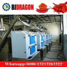 Machine à poudre au chili chaud et haute production pour le Sri Lanka