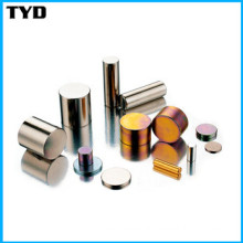 Permanent Strong Cylinder Magnet Standard Neodymium Magnet Grade N35