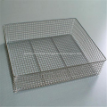 Metal Disinfection Baskets Storage Basket Wire Mesh Basket