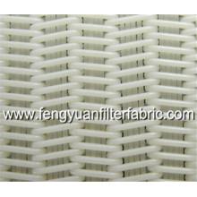 Espiral filtro prensa tecido para secador de frutas
