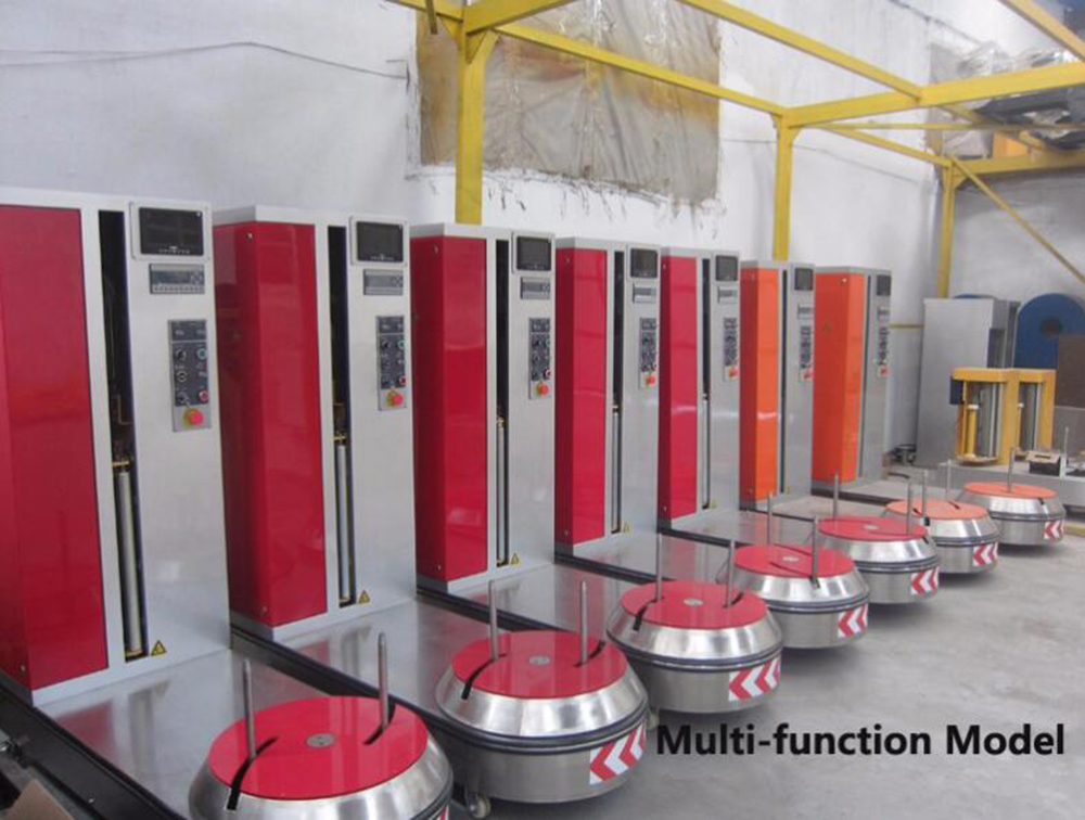 bag and luggage wrapping machine