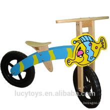 Personalizar la bicicleta de balanceo de madera del balance para los cabritos