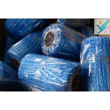 10mm * 10mm 2.5 * 2.5 Rede de parede de fibra de vidro 90G / M2