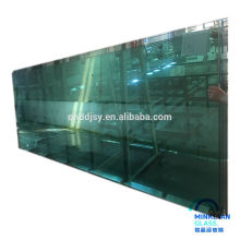 safety clear colored bent tempered glass