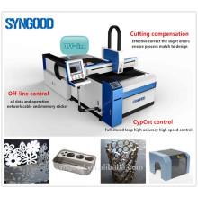 Machine à découper au laser à fibre de carbone0.5-16mm épaisseur Conception ouverte 1500 * 3000mm