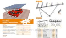 solar pv carport mounting system, carport construction, Solar Car Shelter