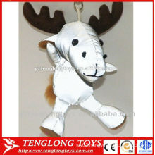 reflective cell phone straps reindeer reflective keychains