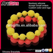 Bracelets d'amitié perles nouées à la main avec perles