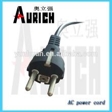 Mazo de cables del UE certificado PVC torno Cable cable de alimentación con 250V