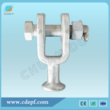 Forged U Type Ball Clevis For Power Transmission