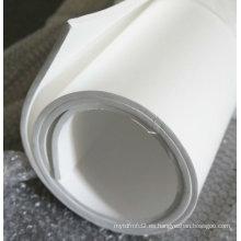 Hoja de PTFE expandida para material de junta