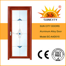 Aluminium Bathroom Doors with Blinds