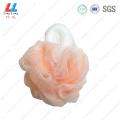 Duable mesh bath absorbent sponge ball