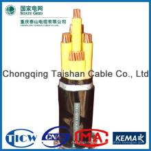 Хорошее качество PVC / XLPE Материал силовой кабель cv