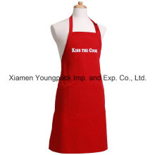 Personalized Custom Funny Men′s Flirty Red Cotton Canvas Cooking Apron