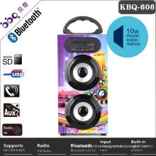 Portable built-in 1200mAh wireless speaker parts