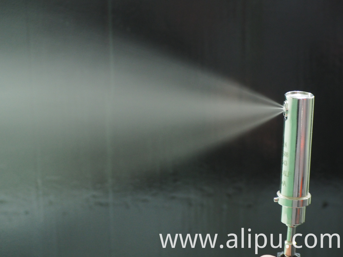 Injection nozzle spray