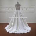XF805 sleeveless pearl white ball gown wedding dress bridal gown wedding dress 2017