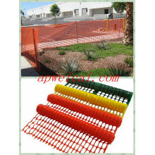 Orange Warning Barrier, HDPE 100%, exporté vers nous, en Europe