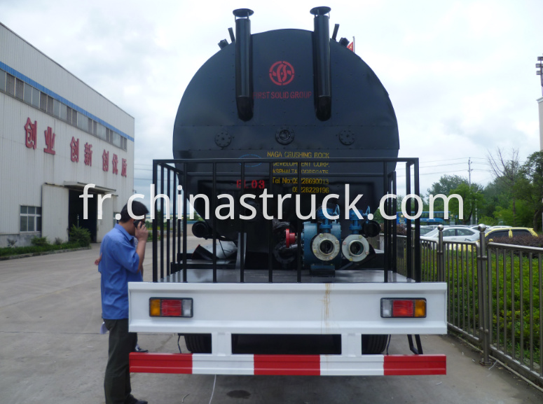 30000 liters heat preservation bitumen tank