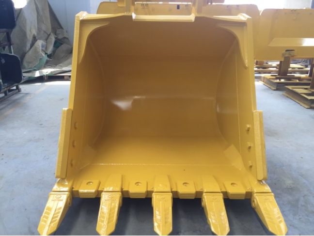 Excavator Tilting Cleaning Bucket