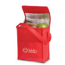 Индивидуальная сумка-холодильник для пикника, не связанная тканями, для еды, напитков, пива, охлаждение льда, коробка для покупок, продвижение (HBCOO-37)