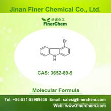 Cas 3652-89-9 | 4-Bromo-9H-carbazole | Intermediários OLED | | 3652-89-9 | preço de fábrica; Grande estoque