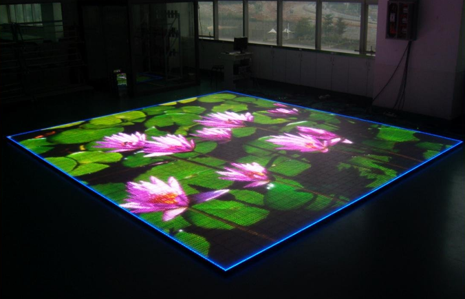 Dance floor led