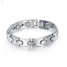 Cadeau de Noël de 2018, bracelet de tungstène magnétique de mode bio santé