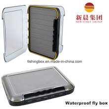 Clear Waterproof Fly Fishing Box Slit Foam Insert Fly Box