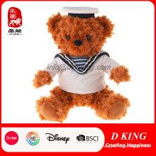 High Quality Children Toy Stuffed Plush Navy Teddy Bear