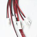 Arnés de cableado eléctrico de la lámpara ultravioleta de la echada 2pin de 3.96mm