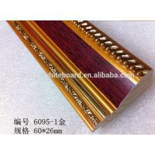 Molduras de madeira sólida quadro de artigos de depoimentos