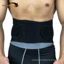 Cinturón de seguridad de ajuste de la aptitud correa ajustable de la ayuda de la cintura