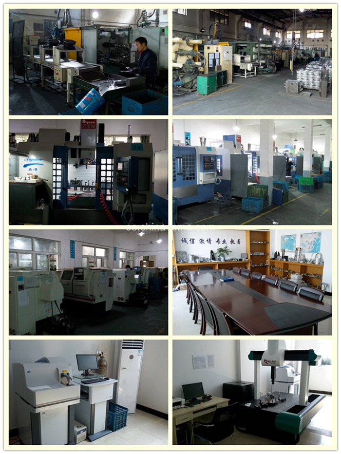 My company strength of aluminum die casting, CNC machining, and QA control