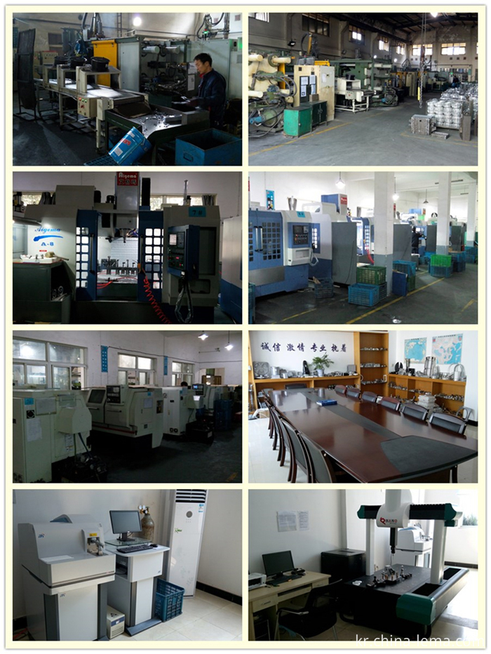 My company strength of brass die casting, CNC machining, and QA control