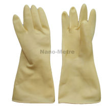 NMSAFETY natural latex rubber household hand gloves