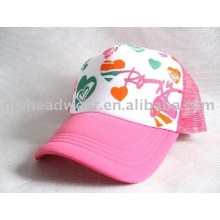 Five panel trucker mesh cap for promotional use