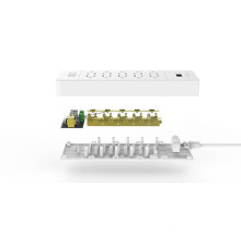 ORICO USP-10A3U-US Desktop toda la casa Surge Protector 10 * AC + 3 * USB Charger