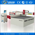 Table dimension 1500*2000mm water jet for working with 1-10mm steel metal cutting