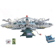 YH-12A/16 Economical Multi-Color Full-Auto screen 12 Colors and 16 Stations for textile