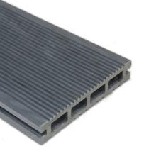 Fácil de instalar bricolaje exterior sólido WPC Decking