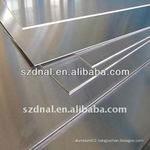 High quality 6061 aluminium alloy sheet with blue film